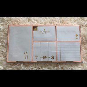 ⬇️🎉🆕 Kate Spade ♠️ Sticky Notes Box